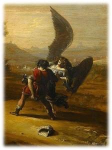 Jacob wrestles with angel3